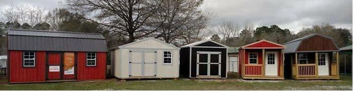 Cabins Barns Shed